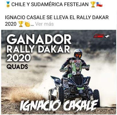 Quads Nacho Casale