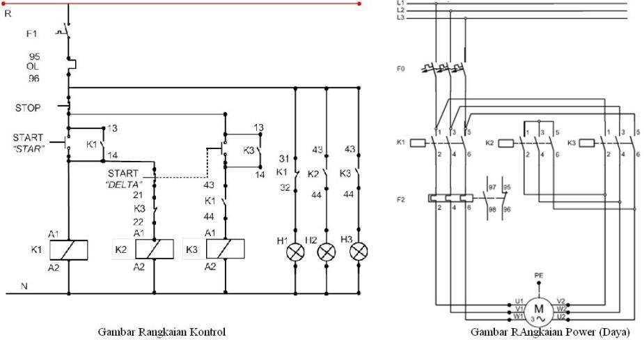 wiring diagram las listrik