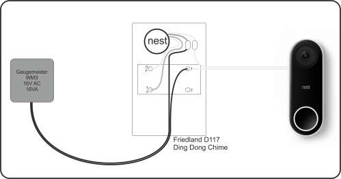 small resolution of wiring diagram for nest doorbell wiring diagram completed wiring nest no chime