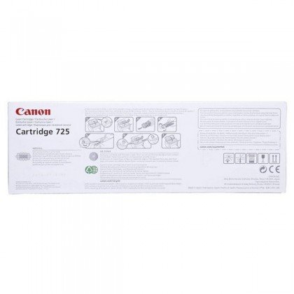 Canon 725 Black Toner Cartridge..