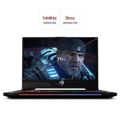 ASUS GL504GW ES019T STRIX SCAR II Intel Core i7 8750H 2.2GHz 16GB 1TB 256GB SSD 15.6 FHD 144hz Wireless Nvidia GeForce 8GB RTX 2070 Bluetooth Camera Windows 10 1