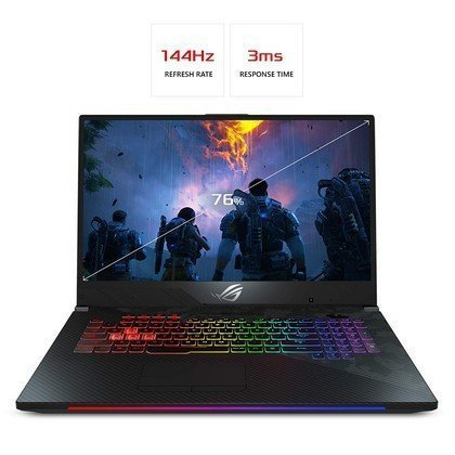 ASUS GL704GV EV014T STRIX SCAR II Intel Core i7 8750H 2.2GHz 16GB 1TB 256GB SSD 17.3 FHD 144hz Wireless Nvidia GeForce 6GB RTX 2060 Bluetooth Camera Windows 10 1