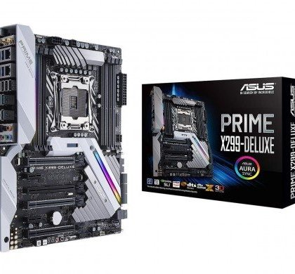 ASUS Prime X299 DELUXE LGA2066 DDR4 M.2 U.2 Thunderbolt 3 USB 3.1 X299 ATX Motherboard with Dual Gigabit LAN and 802.11AD WiFi for Intel Core X Series Processors.......