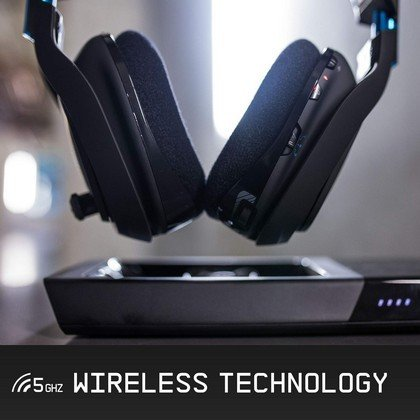 Astro A50 Wireless 5Ghz Surround Sound Dolby 7.1 Gaming Headset Black Blue PS4 PC 939 001538