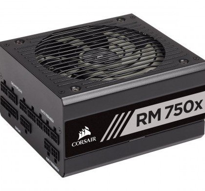 CORSAIR RMx Series RM750x 750 Watt Fully Modular Power Supply 80 Gold Certified CP 9020179 UK.