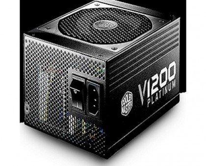 Cooler Master Vanguard V1200 Fully Modular 1200W 80 PLUS Platinum PSU With Silent Fanless CECMRS C00 AFBAG1 UK