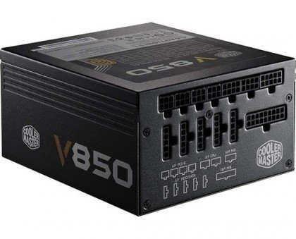 Cooler Master Vanguard V850 Fully Modular 850W 80 PLUS Gold PSU With Silencio Silent CECMRS A850 AFBAG1 UK