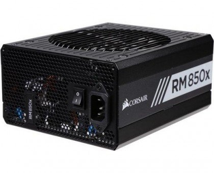 Corsair RMx Series RM850x 850 Watt 80 PLUS® Gold Certified Fully CP 9020093 UK