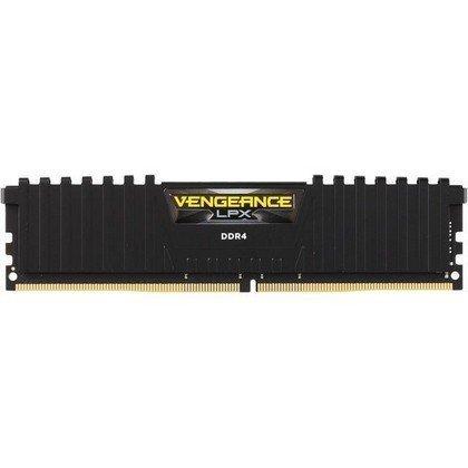 Corsair Vengeance LPX 16GB 1x16GB DDR4 DRAM 3000MHz C16 Memory Kit Black CMK16GX4M1D3000C16