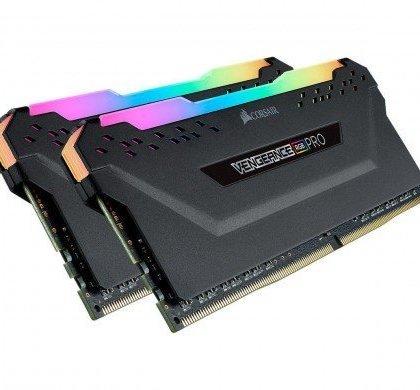 Corsair Vengeance RGB Pro 16GB 2x8GB 288 Pin DDR4 DRAM DDR4 3000 PC4 24000 Desktop CMW16GX4M2C3000C15