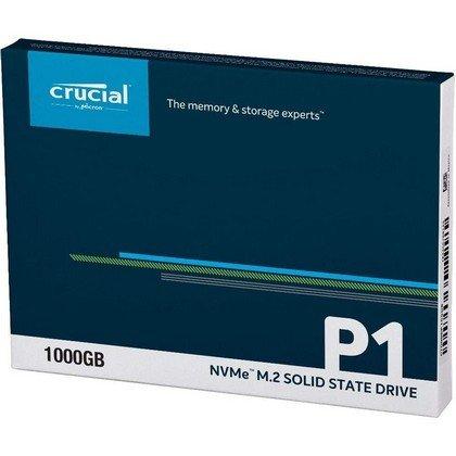 Crucial P1 1TB 3D NVMe PCIe M.2 SSD CT1000P1SSD8