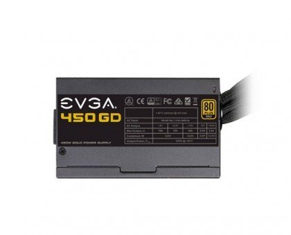 EVGA 450 GD 450 Watts Power Supply 80 Gold 100 GD 0450 V1