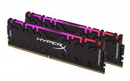 HyperX Predator DDR4 RGB 16GB kit 3200MHz CL16 XMP RAM Memory Infrared Sync Technology HX432C16PB3AK2