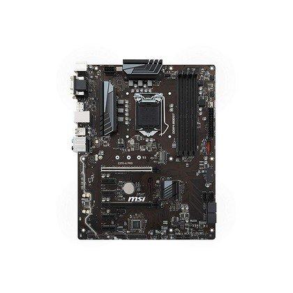 MSI Z370 A PRO LGA 1151 300 Series Intel Z370 SATA 6GbS USB 3.1 ATX Intel Motherboard 1