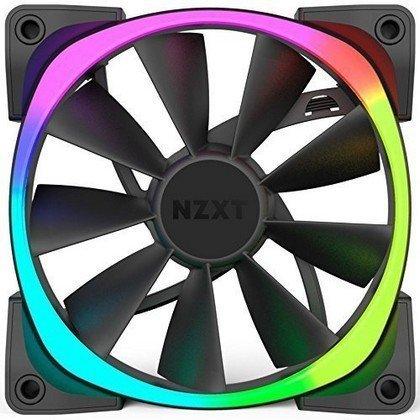 NZXT Aer RGB120 Triple Pack 120mm RGB Case Fan 500 1 500 RPM 4 PIN PWM RF AR120 T1