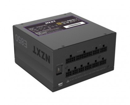 NZXT E850 Fully Modular 850 Watts 80 Plus Gold Power Supply With Digital E850