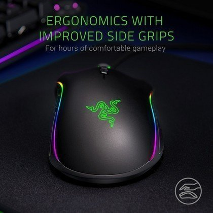 Razer Mamba Elite 5G True 16000 Optical DPI Sensor Chroma Enabled Gaming Mouse RZ01 02560100 R3M1...