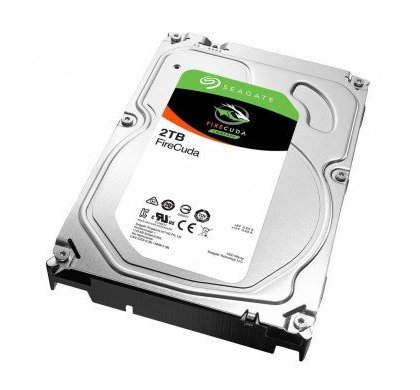 Seagate 2TB FireCuda Gaming SSHD Solid State Hybrid Drive 7200 RPM SATA 6GbS 64MB Cache 3.5 Inch Drive ST2000DX002