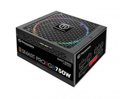 Thermaltake Smart Pro RGB 750W 80 Bronze Smart Zero 256 Color RGB Fan Fully Modular ATX 12V 2.4 EPS 12V 2.92 Power PS SPR 0750FPCBEU R