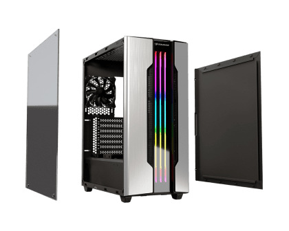 Cougar Gemini S RGB Tempered Glass Mid Tower Computer Case 385BMB0.0001