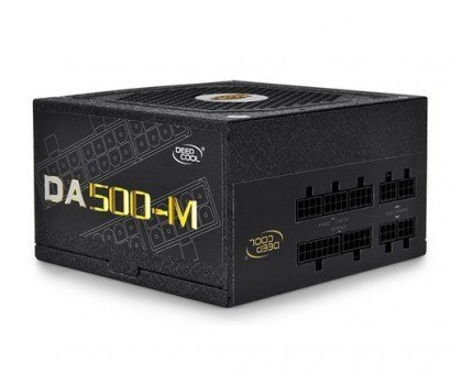 DeepCool DA500 M 500W 80 PLUS® Bronze Certified TRUE 500 100 Modular DP BZ DA500 MFM2