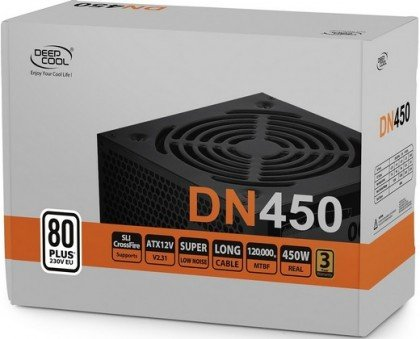 DeepCool DN450 450W 80 PLUS 230V EU Certified ATX DP 230EU DN450