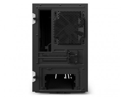 NZXT H200i Mini ITX Computer Case With Smart Device Matte Black CA H200W WB