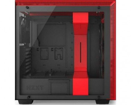 NZXT H700i Mid Tower Case Black Red CA H700W BR