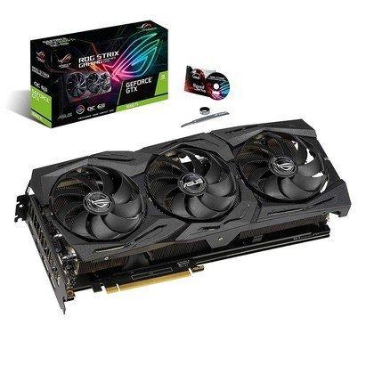 Asus ROG Strix GeForce GTX 1660 Ti OC Edition 6GB 192 Bit Graphics Card 90YV0CQ0 M0NA00...