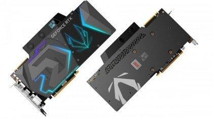 Zotac Gaming GeForce RTX 2080 Ti 11 GB DDR6 CUDA Cores 4352 352 Bit Boost 1575 Mhz NVLink SLI Ready Memory 14.0 Gbps ArcticStorm Waterblock ZT T20810K 30P