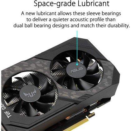 ASUS TUF Gaming GeForce GTX 1660 Super Overclocked 6GB Edition HDMI DP DVI Gaming Graphics Card TUF GTX1660S O6G GAMING 2