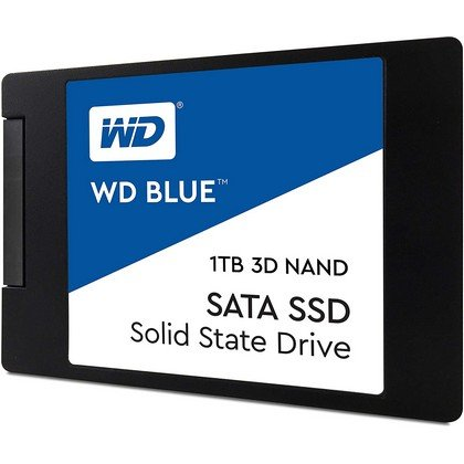 Western Digital WD Blue SSD Internal Memory Card 2.5 Inch 1000 GB WDS1T00T2B0A best ssd for gaming 1