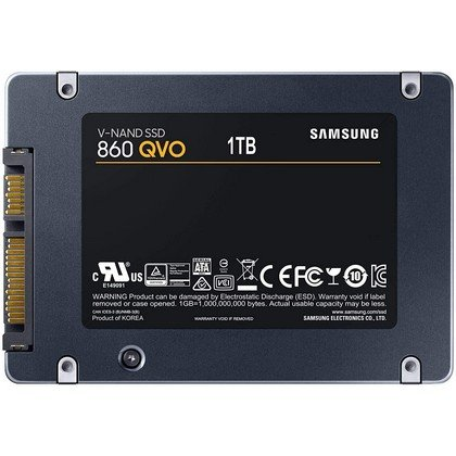 Samsung 860 QVO 1TB Solid State Drive VNAND SATA 6Gbs Quality and Value Optimized SSD MZ 76Q1T0 2