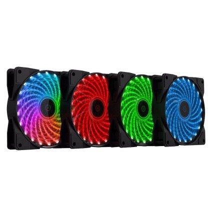 GameMax CL400 RGB 120mm RGB LED Fan Kit Pack of 4 2