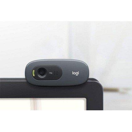Logitech C270 Widescreen HD Webcam Black 4