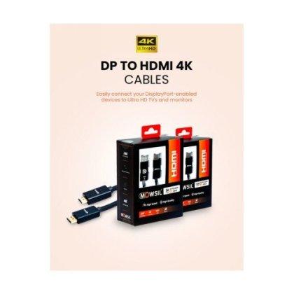 Mowsil DP to HDMI 1