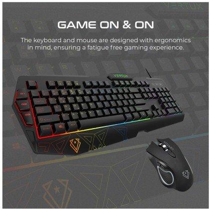Vertux Vendetta Ergonomic Gaming Keyboard Mouse 4
