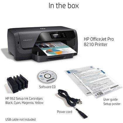 HP OfficeJet Pro 8210 Wireless Color Printer 5