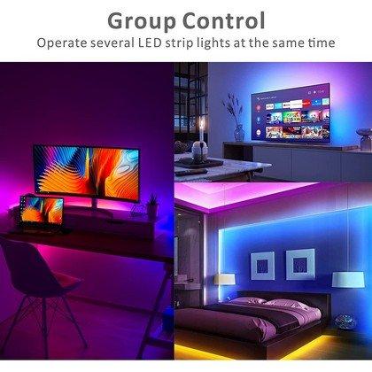 Smart LED Strip Lights5M Baytion Bluetooth LED 5