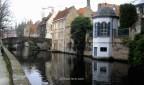 10. Canal Groenerei Brujas Belgica. Bruges Belgium
