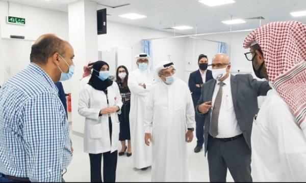 """المجلس الأعلى للصحة يفتتح وحدة متكاملة لعلاج حالات """"كورونا"""" في السلمانية"""