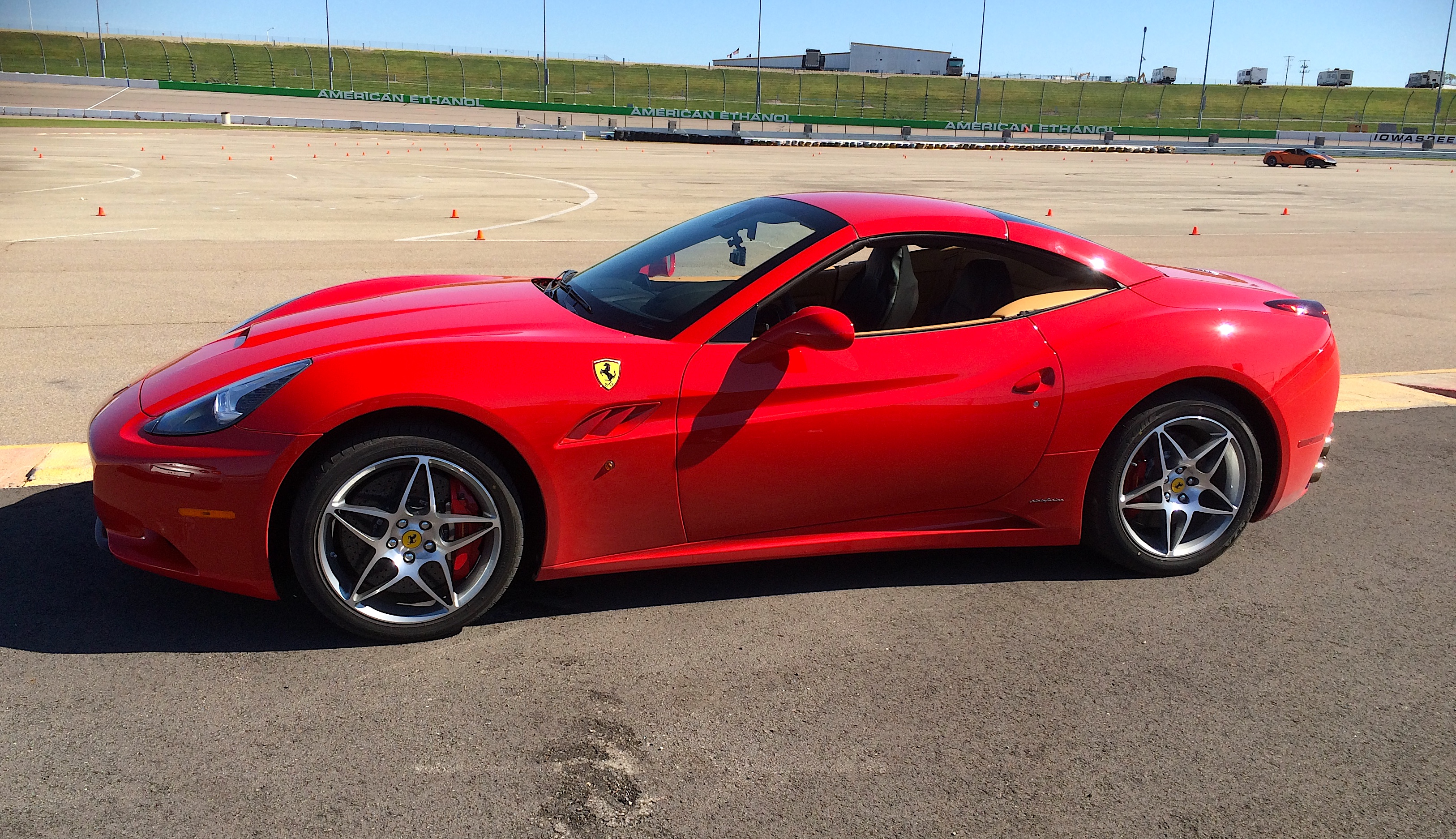 Driving My First Ferrari!