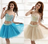 2 Piece Short Prom Dresses Cheap  Review 2017  Always ...