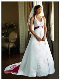 Red Black And White Bridesmaid Dresses And Fashion Week ...