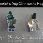 Crafts Tuesdays – St. Patrick's Day Magnets
