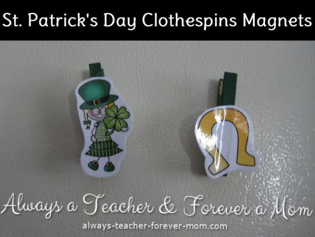 St. Patrick's Day Magnets