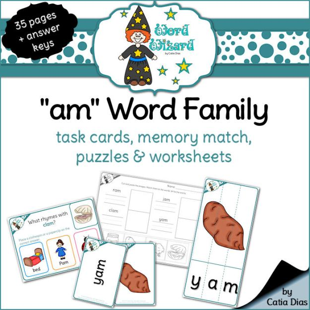 word-wizard-am-word-family