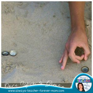 Once Upon a Game - Bottle Cap - a fun and engaging game for the outdoors.