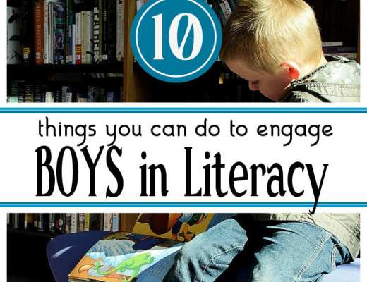 Making literacy fun and engaging is not always an easy thing, especially when it comes to boys. This blog post shares 10 things that teachers can do to improve boys engagement in literacy.