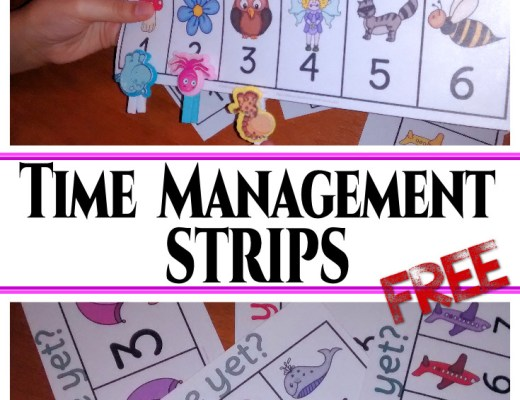 Are we done yet? These time management strips will make your one-on-one time with your students go so much more smoother...